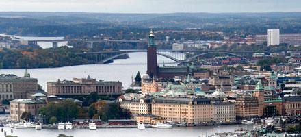 Click here to visit the official Stockholm, Sweden Website.