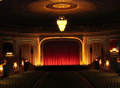 Click here to download a 922 x 682 JPG image showing the auditorium of the Lafayette Theatre.