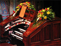 Featured Organ For The Month Of July, 2006 - The 3/14 Mighty WurliTzer installed at the Tampa Theatre in Tampa, Florida.