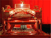 Featured Organ For The Month Of December, 2004 - The Mighty 3/16 WurliTzer Theatre Pipe Organ at the Tennessee Theatre, Knoxville.
