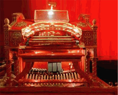 Click here to visit the website of the Tennessee Theatre 3/17 WurliTzer Theatre Pipe Organ, installed at the Tennessee Theatre in Knoxville, Tennessee.