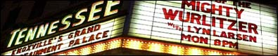 Click here to visit the website of the Tennessee Theatre in Knoxville, Tennessee.