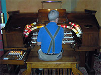 Click here to listen to Tom Hoehn at the console of the 3/12 Robert Morton Theatre Pipe Organ installed at the Polk Theatre in Lakeland, Florida.