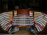 Featured Organ For The Month Of January, 2007 - West Point Cadet Chapel 4/380 Möller Church Pipe Organ.