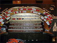 Featured Organ For The Month Of April, 2006 - The 3/15 Mighty WurliTzer installed at Williams High School in Burlington, North Carolina.