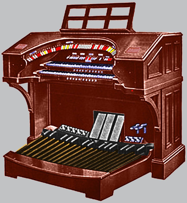 Click here to learn more about the Mighty WurliTzer Style 216 2/10 Theatre Pipe Organ.