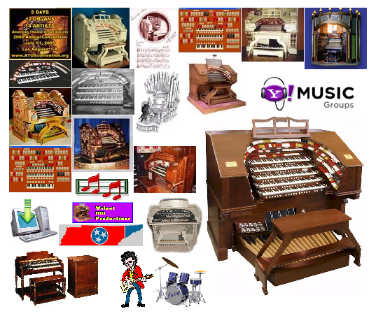Click here to see our complete listing of all current Theatre Pipe Organ news groups on Yahoo! Music Groups.