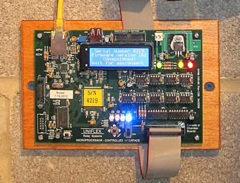 Uniflex Microprocessor Controlled Interface Board
