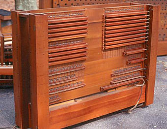 Wurlitzer Pipe Organ Switch Stack